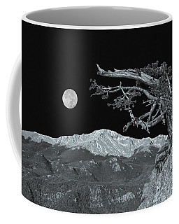 A Lofty Summit Aspiring Towards The Heavens  Coffee Mug