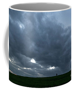 Alone In The Face Of The Storm Coffee Mug