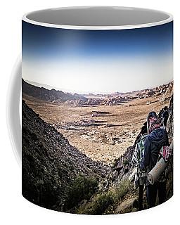 A Long Walk Through Joshua Tree Coffee Mug