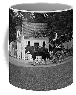 Coffee Mug featuring the photograph A Look Back by Eric Liller