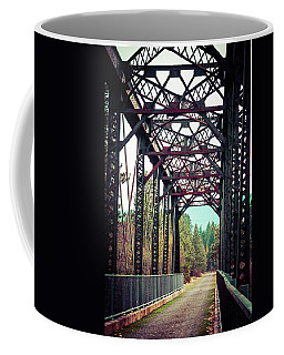 Coffee Mug featuring the photograph A Lovely Path by Mary Hone