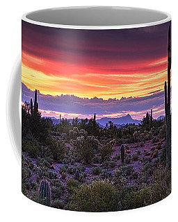 A Magical Desert Morning  Coffee Mug