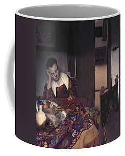 A Maid Asleep  Coffee Mug