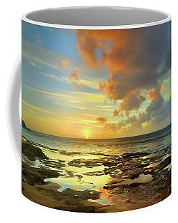 Coffee Mug featuring the photograph A Marmalade Sky In Molokai by Tara Turner