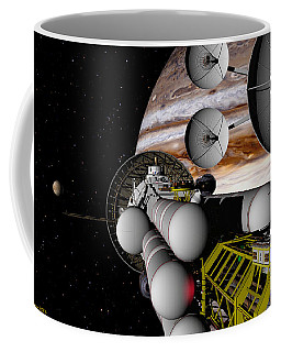 A Message Back Home Coffee Mug by David Robinson