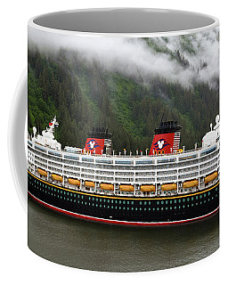 A Mickey Mouse Cruise Ship Coffee Mug