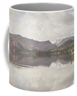 Coffee Mug featuring the photograph A Misty Ullswater by RKAB Works