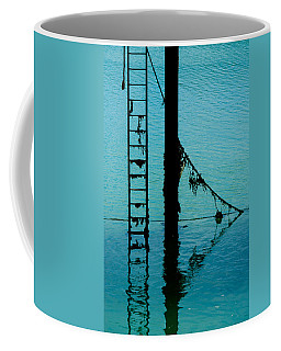 Coffee Mug featuring the photograph A Modicum Of Maritime Minimalism by Chris Lord