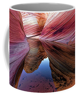 Coffee Mug featuring the photograph A Moment To Reflect by Jonathan Davison