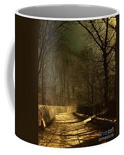 A Moonlit Lane Coffee Mug