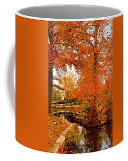 A Morning In Autumn - Lake Carasaljo Coffee Mug