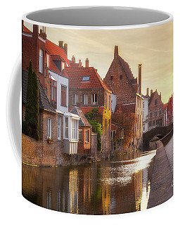 A Morning In Brugge Coffee Mug by JR Photography