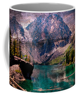 A Mountain Lake And Scenery Coffee Mug