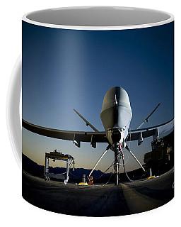 A Mq-9 Reaper Being Refueled Coffee Mug