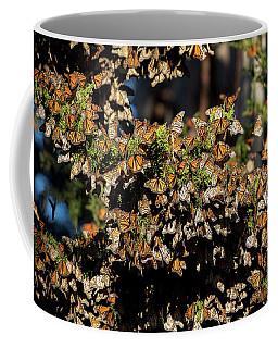 A Multitude Of Monarchs Coffee Mug