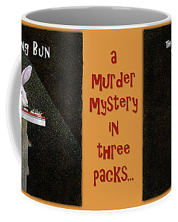 Coffee Mug featuring the painting A Murder Mystery In Three Packs... by Will Bullas