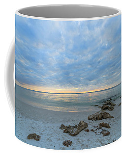 A Naples Seascape #01 Coffee Mug by Christopher L Thomley