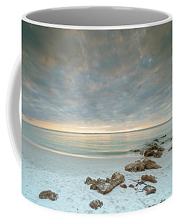 A Naples Seascape #02 Coffee Mug by Christopher L Thomley