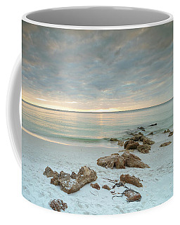 A Naples Seascape #03 Coffee Mug by Christopher L Thomley