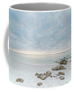 A Naples Seascape #04 Coffee Mug by Christopher L Thomley