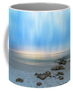 A Naples Seascape #13 Coffee Mug by Christopher L Thomley