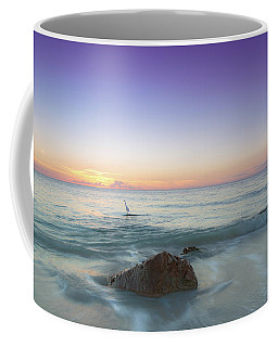A Naples Sunset Coffee Mug by Christopher L Thomley