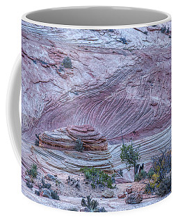 Coffee Mug featuring the photograph A Natural Abstract by John M Bailey