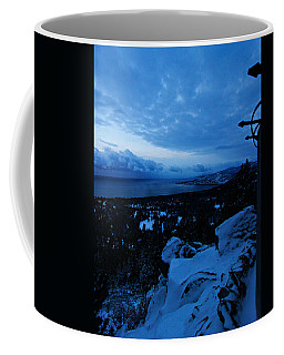 A New Day Dawns Over The Village Coffee Mug by Sean Sarsfield
