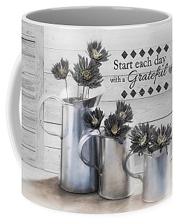 Coffee Mug featuring the photograph A New Day by Robin-Lee Vieira