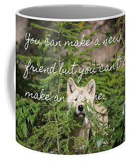 A New Friend Coffee Mug