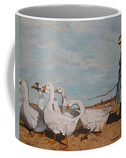 A New Pasture Coffee Mug by Betty-Anne McDonald