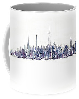 A New Year In Manhattan Coffee Mug