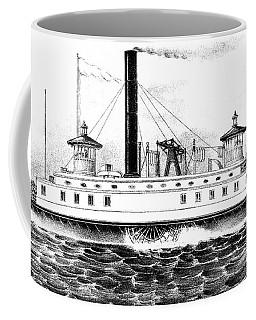 A New York Ferry Boat Coffee Mug