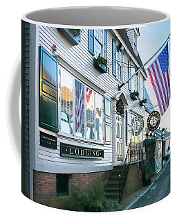 A Newport Wharf Coffee Mug by Nancy De Flon