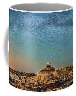 A Night At Bisti Badlands Coffee Mug