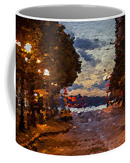 A Night Out On The Town Coffee Mug by Anthony Fishburne