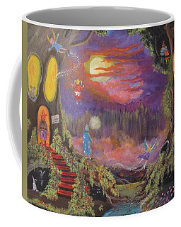 A Night With Elves And Fairies Coffee Mug