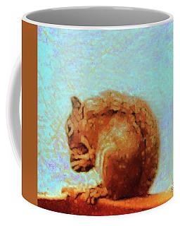 A Nutty Lunch Coffee Mug