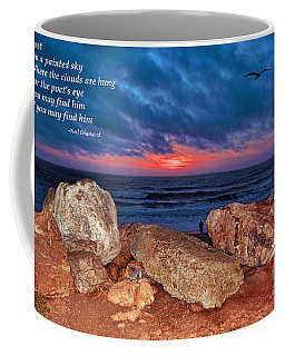A Painted Sky For The Poet's Eye Coffee Mug