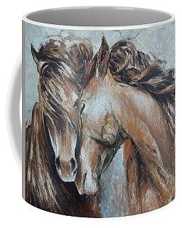 A Painting About Love  Coffee Mug