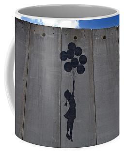 A Painting On The Israeli Separartion Coffee Mug