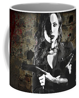 A Pair Of 1911 Coffee Mug by David Bazabal Studios