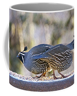 A Pair Of Quail Coffee Mug
