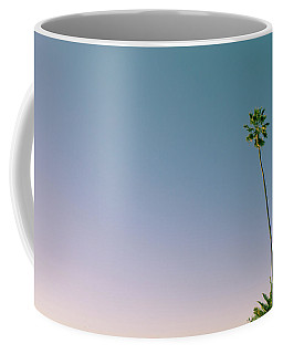 Coffee Mug featuring the photograph A Palm On Its Own by Matthew Wolf