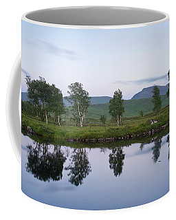 A Pastel Sky Over Loch Ba Coffee Mug