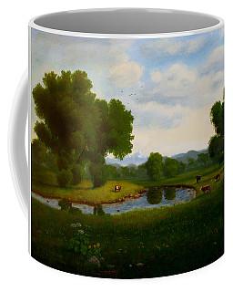 A Pastoral Landscape Coffee Mug