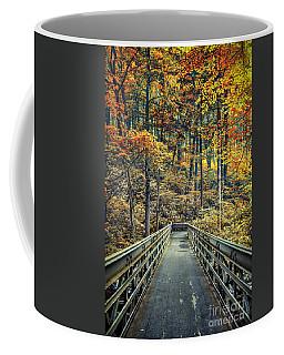 A Path Into Autumn Coffee Mug