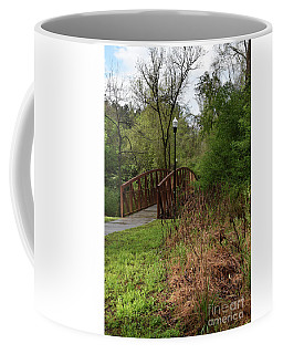 Coffee Mug featuring the photograph A Path Well Taken by Skip Willits