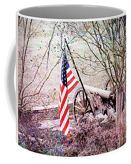 Coffee Mug featuring the photograph A Patriots Vision by Bonnie Willis