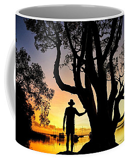 Coffee Mug featuring the photograph A Peaceful Dawn Down By The Lake by Keiran Lusk